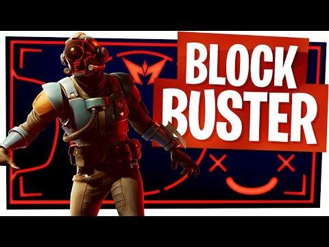 UNLOCKING THE NEW BLOCKBUSTER SKIN Aka The Visitor Skin! - Fortnite Blockbuster Challenge