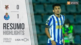 Highlights   Resumo: Santa Clara 0-1 FC Porto (Liga 20/21 #8)