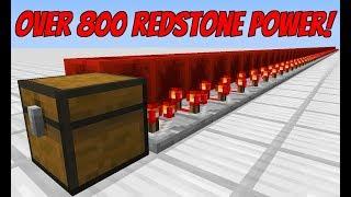 OVER 800 Redstone Power Signal 1 12 0 Vanilla Survival