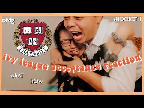 HARVARD ACCEPTANCE (college