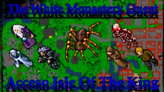 TIBIA ACCESOS: Acceso Isle Of The Kings // TIBIA EN ESPAÑOL // The White Raven Monastery Quest