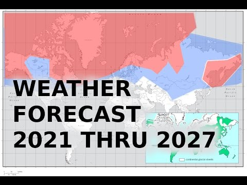 Mini ice Age: Abandon Your Home? Weather forecast 2021 to 2027