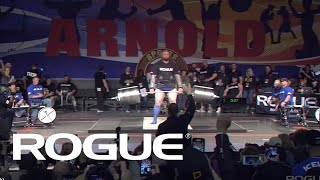 Download 2019 Arnold Strongman Classic | Rogue Elephant Bar Deadlift - Full Live Stream Event 1 Mp3 and Videos
