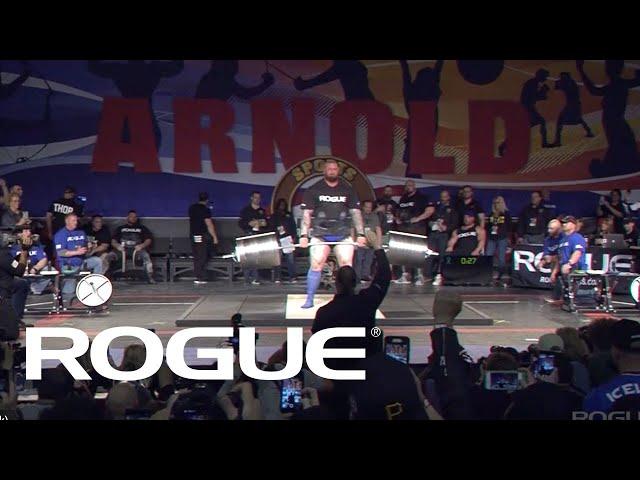 2019 Arnold Strongman Classic | Rogue Elephant Bar Deadlift - Full Live Stream Event 1