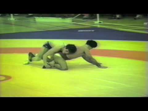 1988 Senior European Championships: 52 kg Bronze Saban Trstena (YUG) vs. Aslan Seyhanli (TUR)