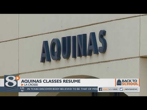 First day of classes for Aquinas Catholic Schools