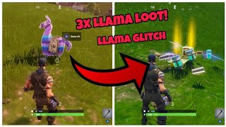 Fortnite Glitches Season 5 (New) Llama glitch *Get x3 loot from llamas* PS4/Xbox one 2018