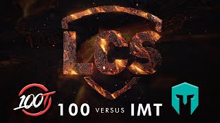 100 vs IMT | Week 8 | Summer Split 2020 | 100 Thieves vs. Immortals