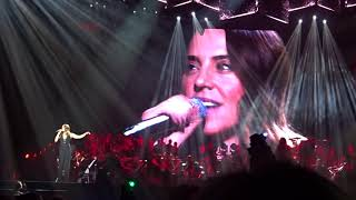 Mel C, formerly the Spice Girls, performing First day of my life at...