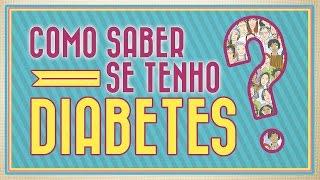 Como saber se é diabetes