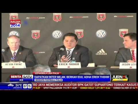 Pengusaha Indonesia, Erick Thohir Resmi Miliki Inter Milan
