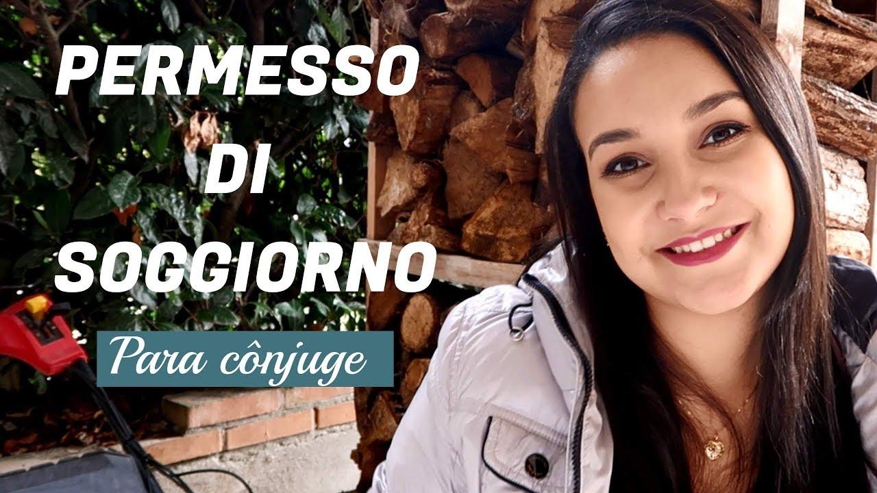 Permesso Di Soggiorno Documentos E Como Fazer Italia Com Amor Youtube