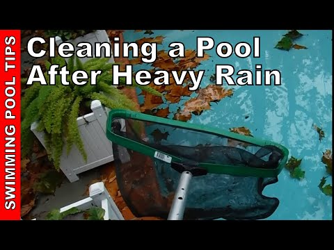How To Make Your Pool Water Clear Doovi