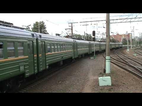Электропоезд ЭД2Т-0036 станция Голицыно