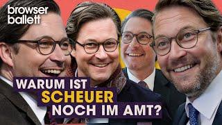 Warum ist Scheuer noch im Amt?