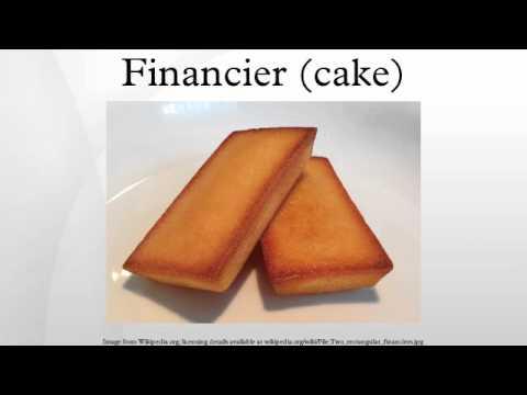Financier (cake)