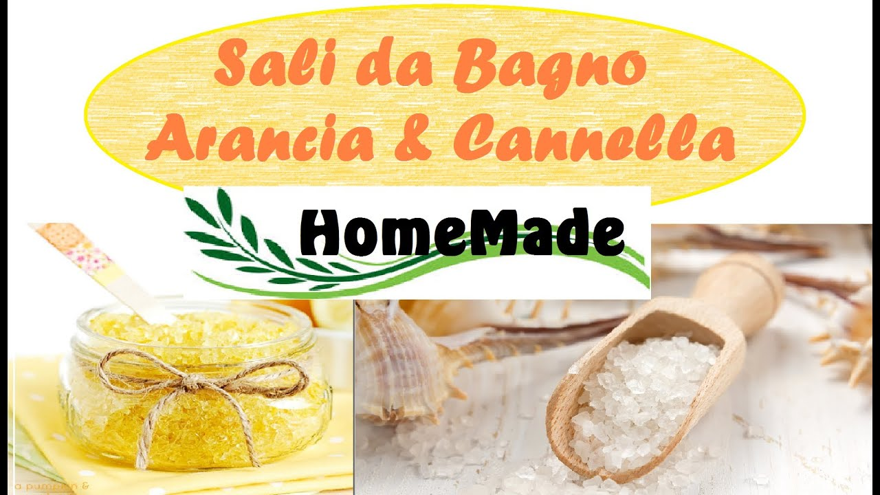 Sali da bagno arancia cannella fai da te bath salts orange cinnamon home made youtube - Sali bagno fai da te ...