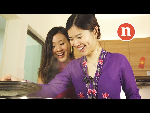 Healthy Asian Vegetarian Dumplings [Nyonya Cooking]