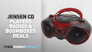 Walmart Top Cyber Monday Jensen Cd Players Radios & Boomboxes Deals: Jensen CD-490 Portable Stereo