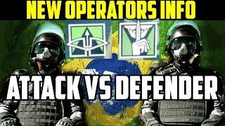 Rainbow Six Siege Brazil Operators BOPE Attackers & Defenders Rio De Janeiro