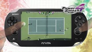 Virtua Tennis 4 (Power Smash 4)  HD Trailer PlayStation Vita