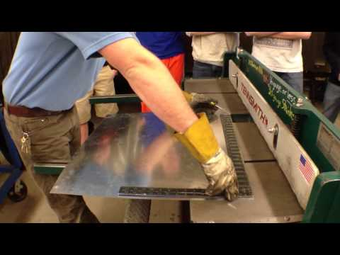 Sheet metal shear operation 101