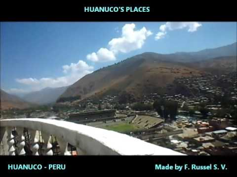 Peruvian attractions - Huánuco town