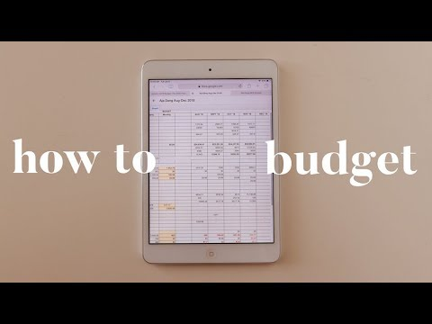 How to make a budget in excel macro 2020
