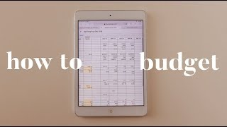 How To Make A Budget | Budgeting For Beginners | Aja Dang