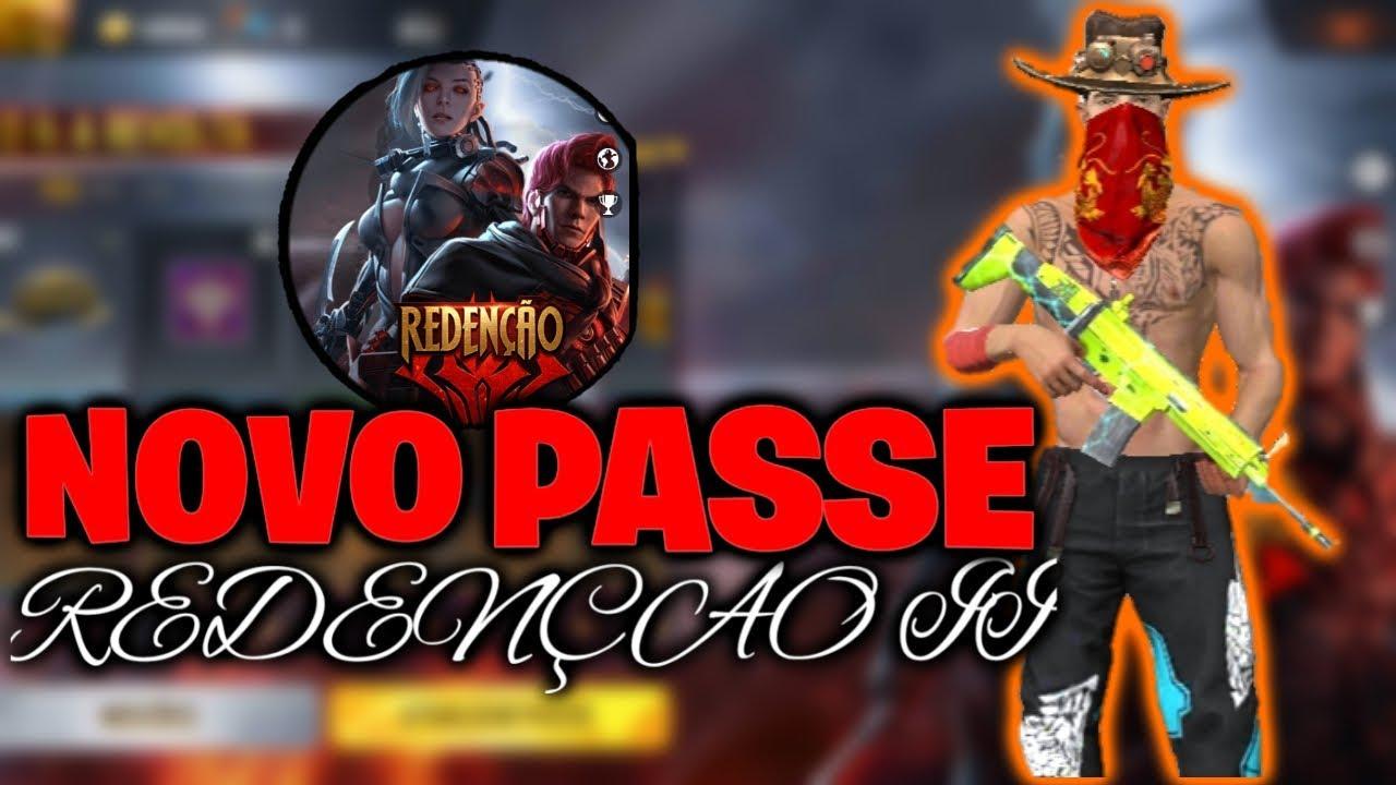 🚩FREE FIRE - AO VIVO🚩NOVO PASSE REDENÇÃO +JOGANDO CS COM OS SUBS,PRIMEIRA LIVE MOBILE!!