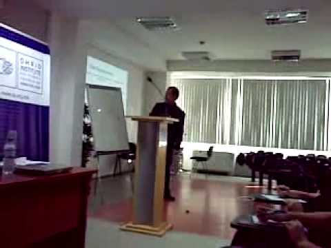 Lecture by prof. Paul Swope 21.05.2009