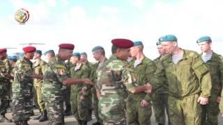 بدء التدريب العسكري المصري الروسي  'حماة الصداقة 2016'.. فيديو