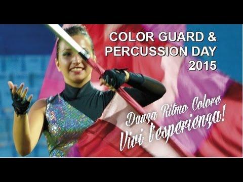 Color Guard & Percussion Day 2015 LIVE