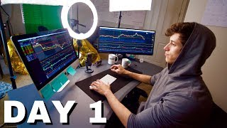 Day 1 Trading With $100,000