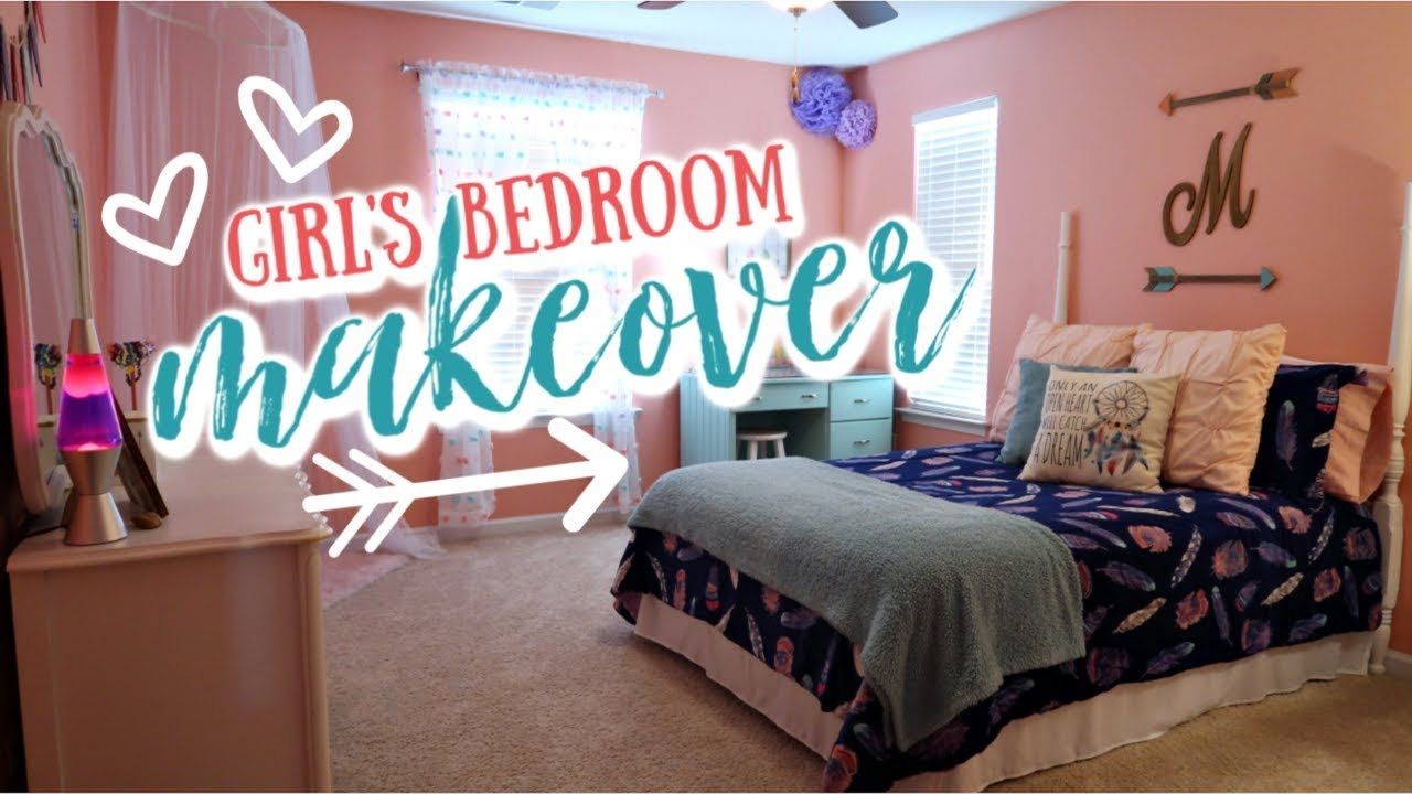 GIRLS BEDROOM DECOR TOUR | FEATHER & ARROWS BEDROOM THEME | Cook Clean And  Repeat