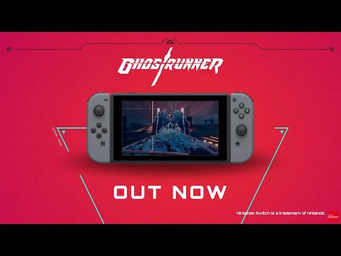 Ghostrunner | Launch Trailer | Nintendo Switch