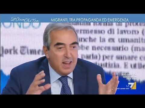 Gasparri (FI), Libia: 'Meglio la tende di Gheddafi a Roma della guerra civile permanente'
