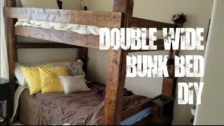 We decided that rather than build a typical bunk bed we