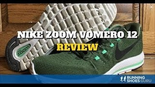 Nike Zoom Vomero 12 Running Shoes Video Review