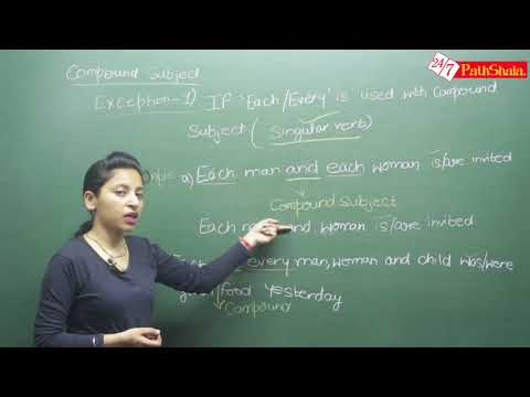 SSC CGL- SUBJECT VERB AGREEMENT English lecture By Nisha mam