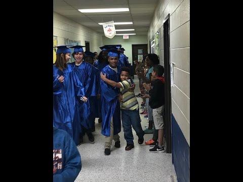 Seniors on Parade:  Kearns Academy at Central at Oak View Elementary