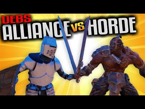 UEBS - Alliance vs Horde in a Warcraft Battle of Stormwind - Ultimate Epic Battle Simulator Gameplay