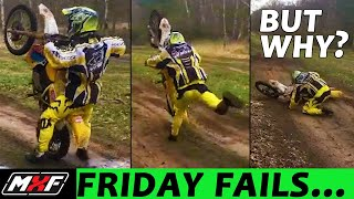 Friday Fails... But Why? #16 - Swappin' Sand Whoops & Funny Wheelie Fail!!!