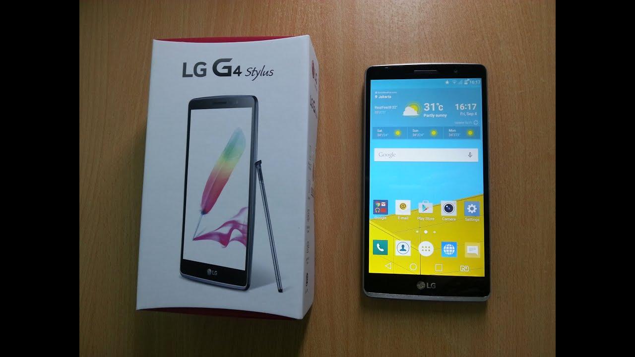 e15bae0973bddf LG G4 Stylus Unboxing ! [Indonesia Version] - YouTube