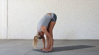Yoga: How To Do Standing Forward Bend