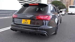 740HP Audi RS6 Avant C7 w/ Full Straight Milltek Exhaust! CRAZY REVS!