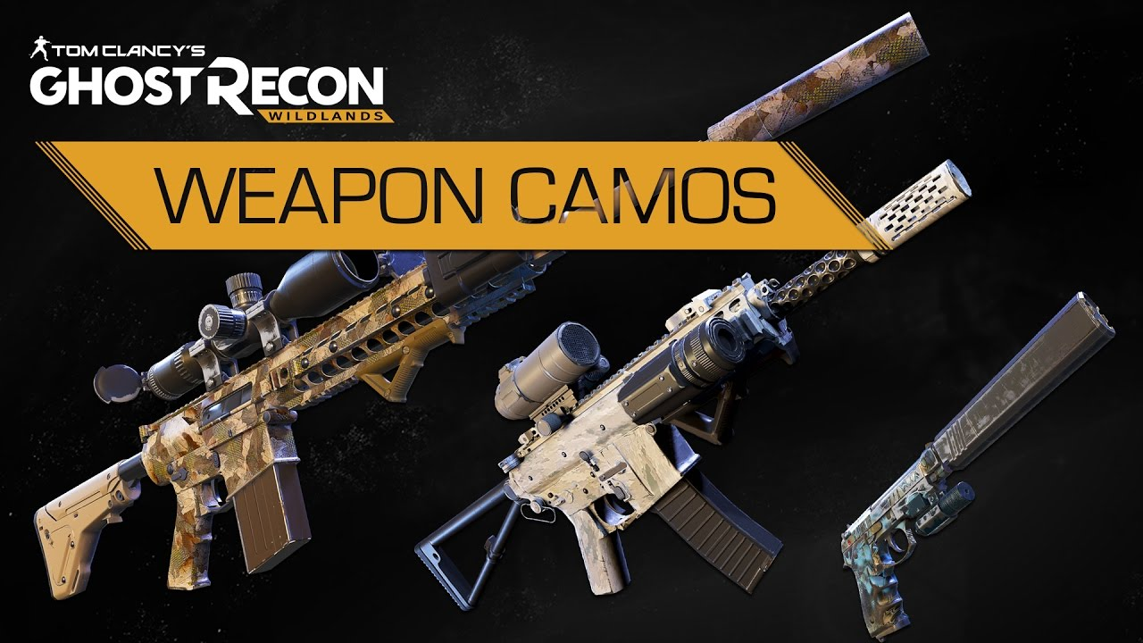the division weapon camos