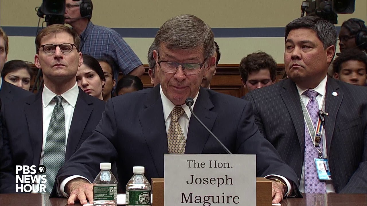 Acting intelligence chief Maguire defends his handling of whistleblower complaint in testimony before Congress