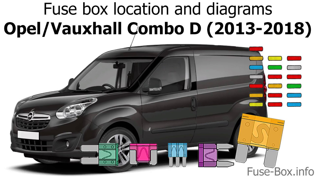 fuse box location and diagrams opel vauxhall combo d (2013 2018) 3000GT Fuse Box Location