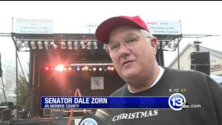 Sen. Zorn discusses Christmas in Ida festival